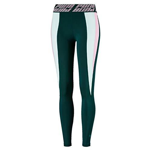 PUMA Damen Leggings Own It Full Tight, Ponderosa Pine-Fair Aqua, XL, 517392