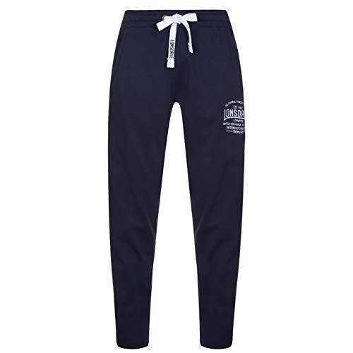 Pantalones de chándal para hombre, de la marca Lonsdale, Charcoal M, XXXL