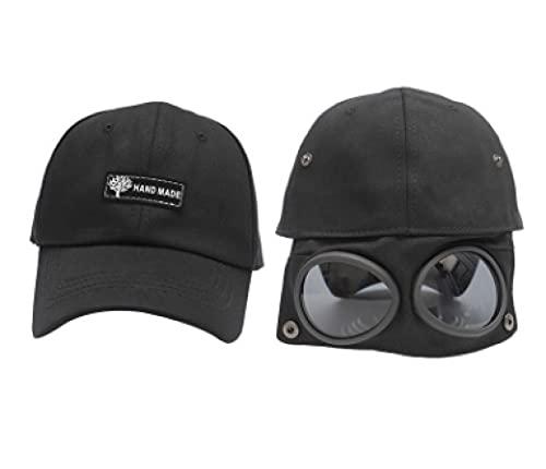 WSMYGB Gorra De Aviador Gafas Gorra De Béisbol Gorra De Sol para Hombre Y Mujer 49-54Cm 3