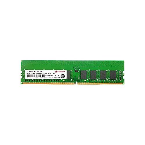 TRANSCEND 8GB DDR4 2133 ECC-DIMM 2Rx8 1Gx72 288P 512Mx8/CL15