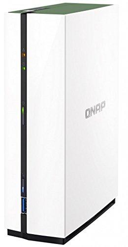 Qnap Personal Cloud with DLNA 覆盖 多种颜色TS-128A-US  TS-128A 1 Bay, 1GB, 1.4Ghz ARM Quad