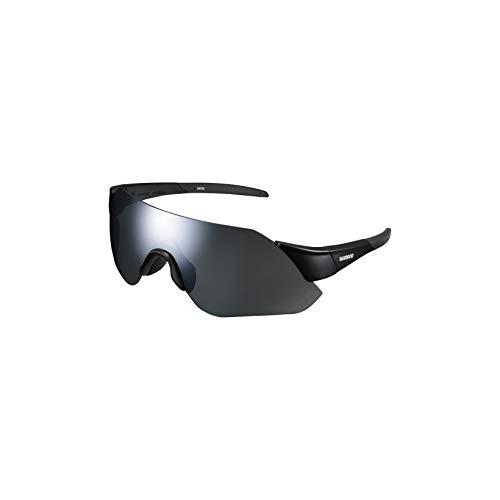 SHIMANO Gafas Aerolite MR Ciclismo, Adultos Unisex, Negro(Negro), Talla Única