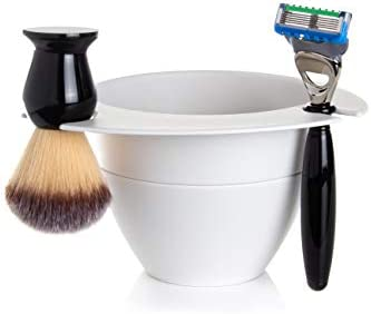 Modular Shaving Bowl by SHAVEBOWL Made in USA Stone White product image