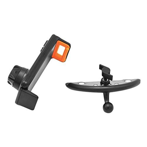 Buwei Universal 360 Grados de rotación Soporte de Montaje en Ranura para CD de Coche Soporte para Tableta de teléfono