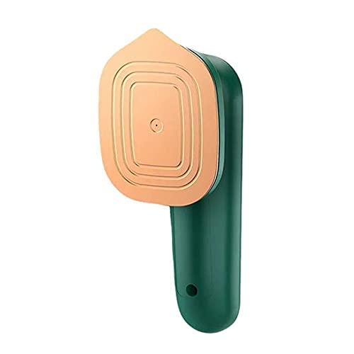 Clenp Plancha De Vapor, Mini Vaporizador De Mano De Panel De Metal De Titanio Conveniente Eficiente Portátil para El Hogar Verde