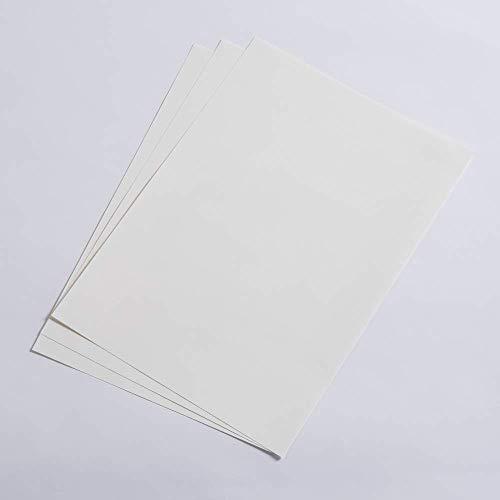 ALLPAPP Edles Schreibpapier, gerippte Oberfläsche, Weiß, DIN A4, 120g/qm, 250 Blatt/Packung, Breitbahn