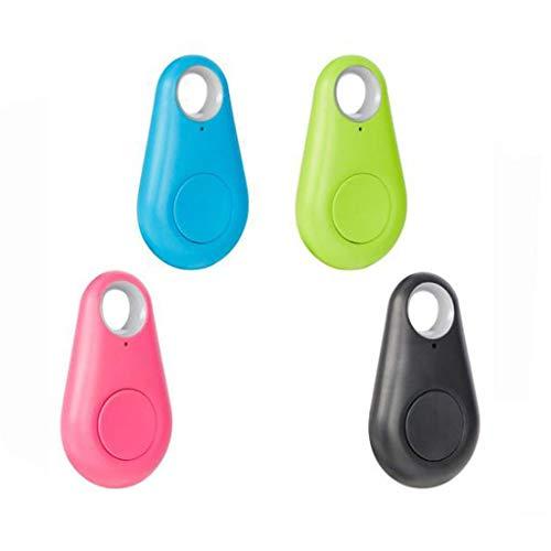Gmgod❤️❤Tracker Device,4 Pcs GPS Key Finder Smart Locator for Keys Pets Phones Wallets Bags Car