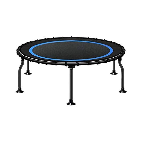 YWAWJ Trampoline, Foldable Mini Trampoline, Indoor Outdoor Small Rebounder Trampoline for Boys Girls