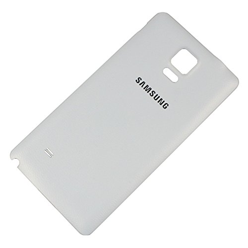 Battery Back Door Cover Replacement for Samsung Galaxy Note 4 N910F N910A N910V N910T N910P White