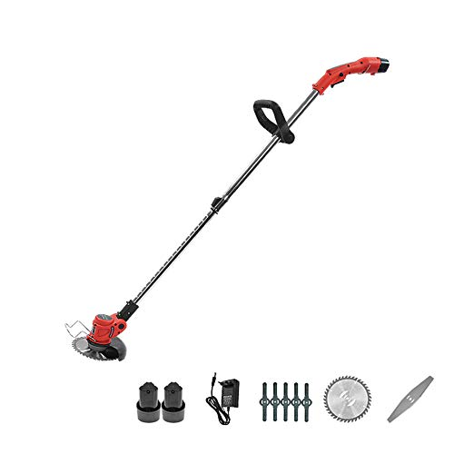 Why Should You Buy DENGS 1300W Hedge Cutter, Lithium Battery Grass Trimmer, Light Weight, overheat P...