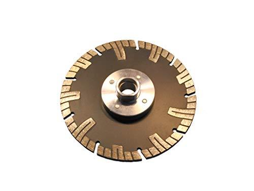 Diamant Trennscheibe mit Flansch M14 Durchmesser 125 mm