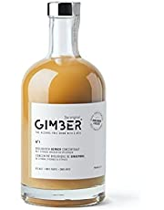 GIMBER Biologisch alcoholvrije gembershot 700 ml | Niet alcoholisch 100% biologische gember drank op basis van gember, citroen en kruiden | Premium gemberconcentraat