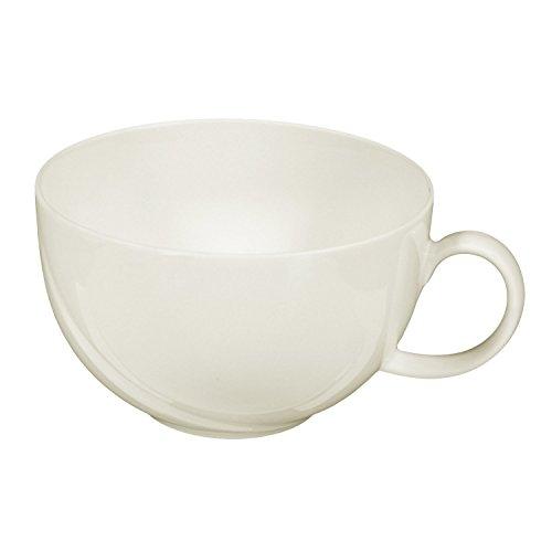Seltmann Weiden 001.050721 Orlando - Milchkaffeeobertasse/Kaffeetasse - 0,37 l - Porzellan - Cream/Elfenbein
