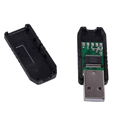 USB RS232 Módulo convertidor de serie USB Plug Adaptador Board USB PCB Serial Converter Module Connector Support Win10