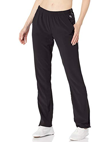 Soffe Women's Game Time Warm Up Pant, Black, Small