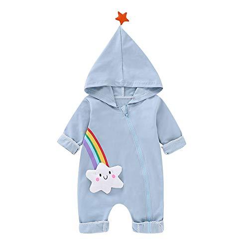 Baywell Baywell Säugling Baby Strampler Mädchen Jungen Schlafanzug Lange Ärmel Baumwolle Spielanzug Baby-Nachtwäsche Kleinkind Frühling Herbst Overalls Body Jumpsuit