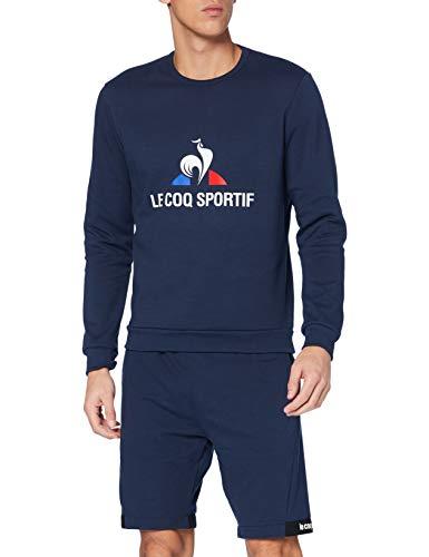 Le Coq Sportif Fanwear Crew Sweat M Maillot de survêtement Homme, Bleu (Dress Blues), L