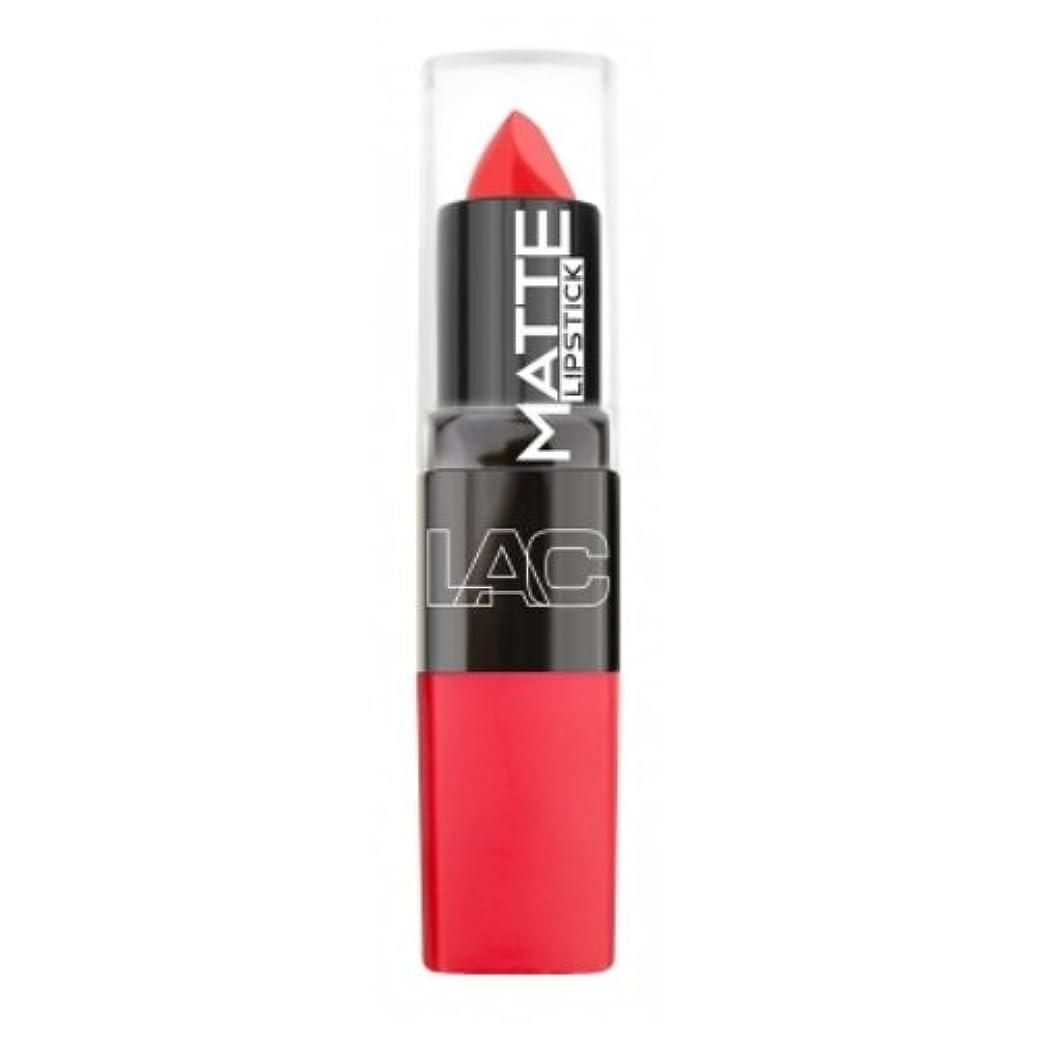 計り知れない液化するご覧ください(3 Pack) LA Colors Matte Lipstick - Whirlwind (並行輸入品)