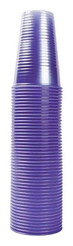 Nupik 2193 - Vasos para Agua (plástico, 20 cl, 1000 Unidades), Color Azul