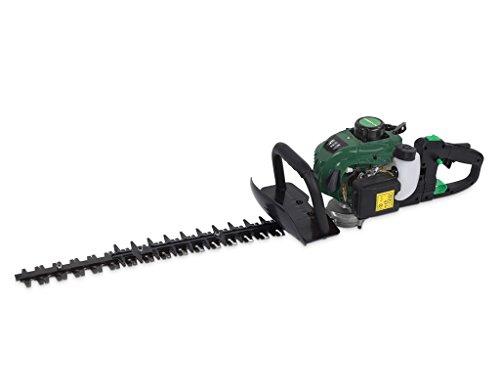 Powerplus POW6129 corta-setos eléctrico Cuchilla doble 650 W - Fusible de seguridad (Gasolina, 650 W, 0,58 L)