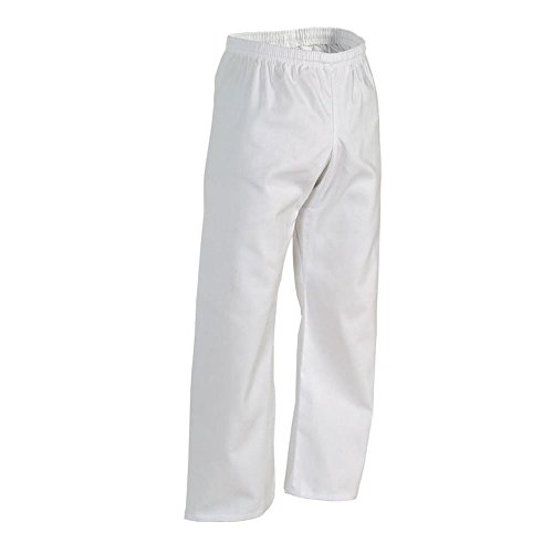 Century Student Elastic Waist Martial Arts Karate Pant White Size 1