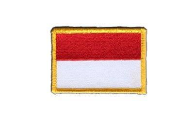 Aufnäher Patch Flagge Indonesien - 8 x 6 cm
