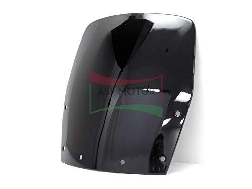Protek Black Smoke Double Bubble Transparent Windscreen Windshield for 1988 1989 1990 1991 1992 1993 1994 1995 1996 1997 1998 1999 2000 2001 2002 2003 2004 2005 2006 2007 Kawasaki Ninja 250R EX250F