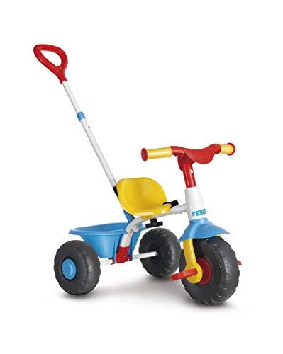 FEBER- Triciclo Trike 2 en 1, Color Azul (Famosa 800012810) ✅