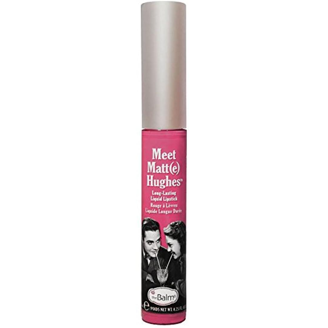 マッサージガラガラ意義Thebalm Meet Matt- e Hughes Long-Lasting Liquid Lipstick Chivalrous (並行輸入品) [並行輸入品]
