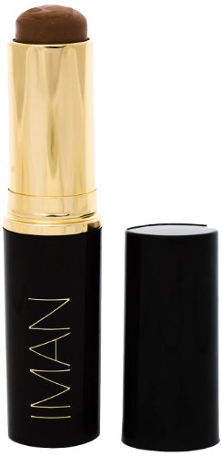 IMAN Cosmetics Second To None Stick Foundation, Dark Skin, Earth 6