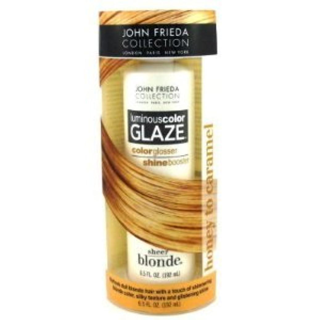John Frieda Collection Sheer Blonde Luminouscolor Glaze Color Glosser Honey to Caramel 6.5oz esshoppoyh