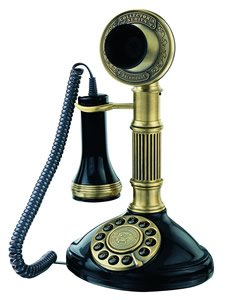 Paramount Roman Column 1897 Candlestick Reproduction Phone