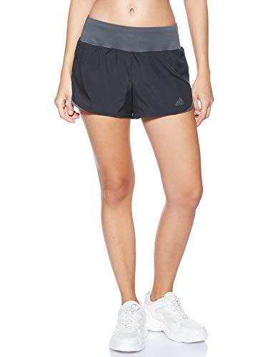 adidas Damen Run IT W Shorts, Black/Grey six, XL3 Zoll