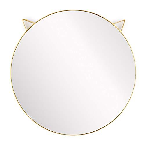 Espejos Decorativos de Pared Redondos Dorados Marca Balvi