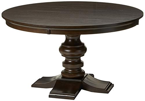 Best Quality Furniture Dining Round Table (Single) Wood, Cappuccino