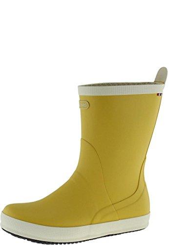 Botas mujer de agua amarillas