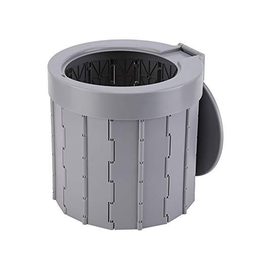 Inodoro portátil de camping – Taburete plegable para inodoro para coche de...