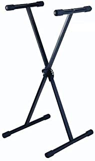 PORTABLE KEYBOARD STAND, BLACK
