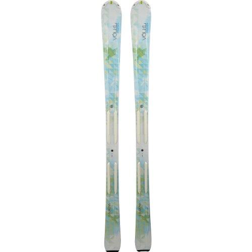 Völkl Essenza Aurena Damen Ski weiss/grün + 4Motion 10.0 Bindung im Set, Größe:166