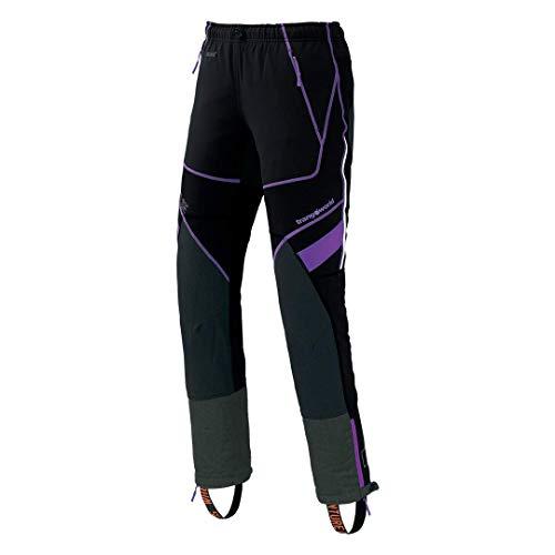 Trango Barsan Pantalon Femme, Negro/Lavanda, FR : L (Taille Fabricant : L (+ 5 cm))