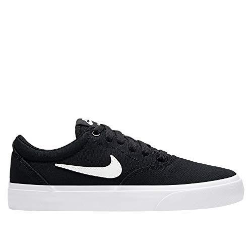 Zapatillas Nike SB Charge Junior, negro y blanco, 36