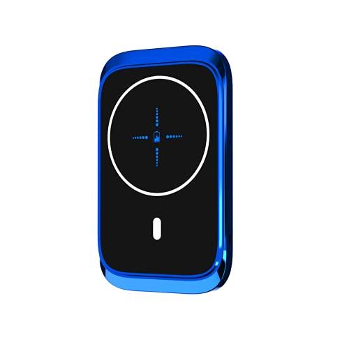 Aplicable a iPhone 12 Pro Max 12Mini 15W Titular de teléfono móvil magnético, cargador de automóviles inalámbrico, soporte de teléfono móvil ventilado por automóvil, cargador de carga rápida