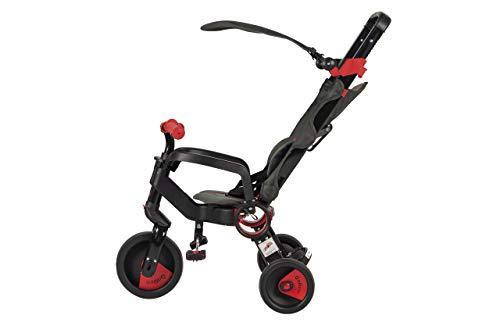 Triciclo Evolutivo Plegable Galileo Rojo y Negro