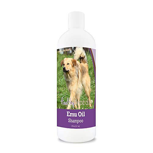 Healthy Breeds Portuguese Water Dog Emu Oil Shampoo 8 oz