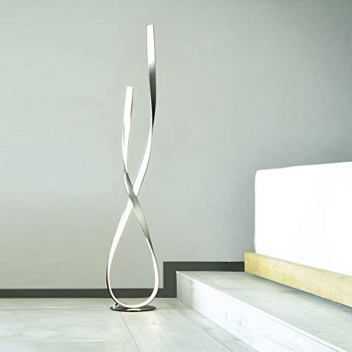 Paul Neuhaus 720-55 - Lampada a stelo a LED, 29 W, per soggiorno, corridoio