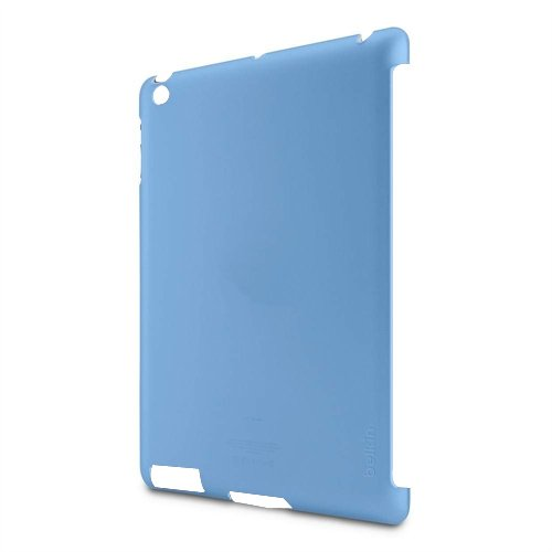 Belkin Snap Shield blau / transparent Schutzhülle für Apple iPad 2, iPad 3, iPad 4