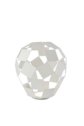 SOMPEX - Lampe à poser design en métal blanc Belly
