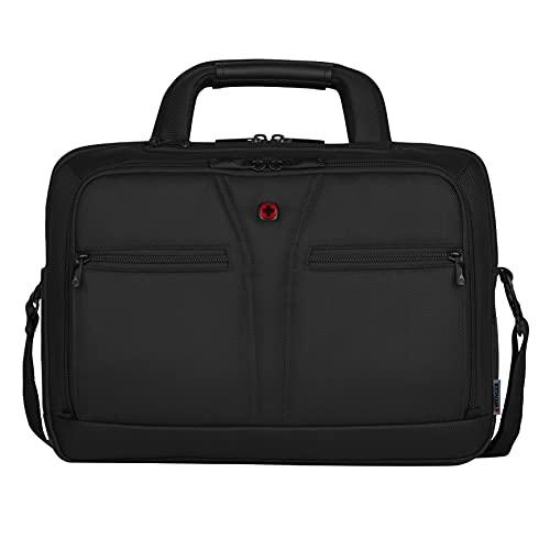Wenger BC Pro 14 Zoll – 16 Zoll Notebooktasche, schwarze premium Business Laptoptasche 15,6 Zoll /39,6 cm mit Tablet- & RFID Fach