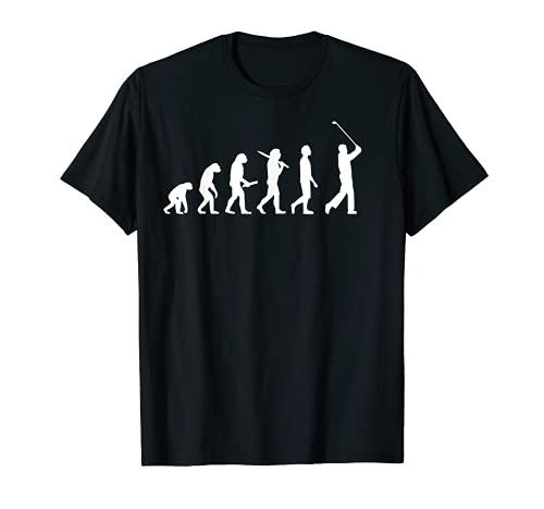 Golf Evolution T-Shirt - Golfer & Golfspieler Geschenk