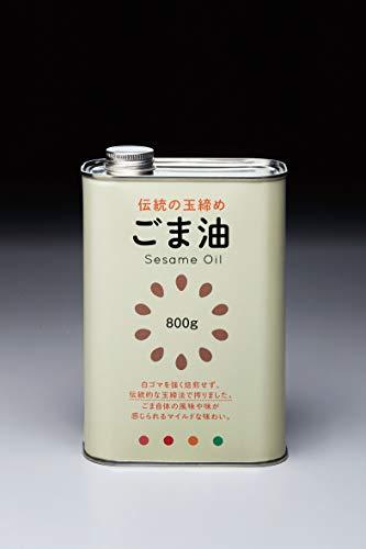 小野田製油所『玉締め一番搾り・小野田製油所のごま油』